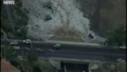 États-Unis : images aériennes de la crue dans le Nevada