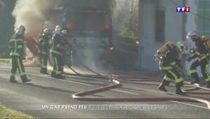 Incendie d'un bus en Charente : un drame évité