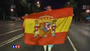 L'Espagne en liesse : les images