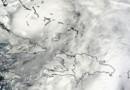 L'ouragan Sandy vu depuis l'espace (25 octobre 2012)