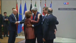 Le 13 heures du 24 novembre 2013 : Nucl�re iranien : un accord historique trouv�- 81.453