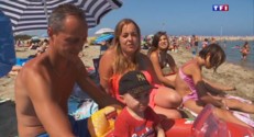 Le 20 heures du 3 août 2015 : Vacances 2015 : plus de touristes français...en France - 1062