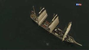 Les vieux gréements débarquent à Brest