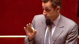 Nicolas Sarkozy devant les parlementaires (2004)