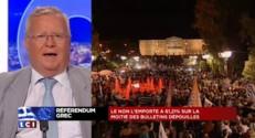 """Référendum grec : """"On ne peut pas avancer contre les peuples"""""""