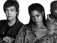 rihanna kanye west Paul Mc Cartney