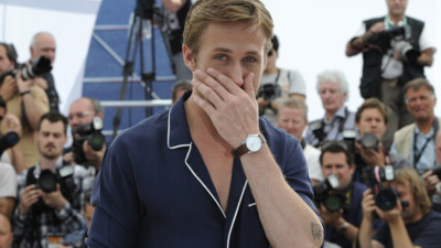 Ryan Gosling au photo-call du film Drive  Cannes en mai 2011