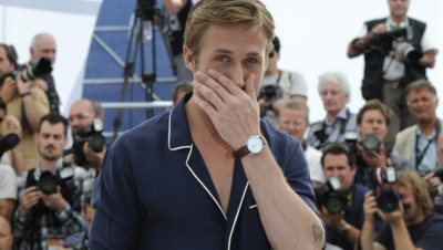 Ryan Gosling au photo-call du film Drive à Cannes en mai 2011