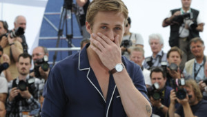 Ryan Gosling au photo-call du film Drive à Cannes en mai 2011