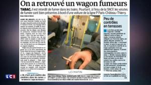 SNCF : un wagon réservé aux fumeurs sur la ligne Paris-Château-Thierry