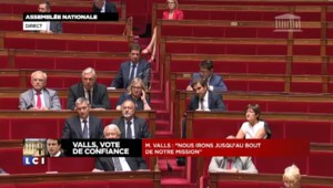"""Valls sur le vote de confiance : """"Je souhaite qu'on sorte de ce climat délétère"""""""