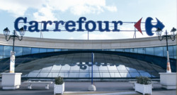 Carrefour enseigne grande distribution magasin hypermarché grandes surfaces