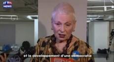 """Ecosse : Vivienne Westwood affiche son soutien au camp du """"oui"""""""