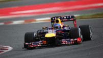 F1 Essais Barcelone 2013 - Red Bull Vettel