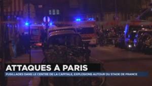Fusillades à Paris : les premières images (14/11)