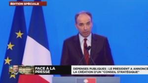 Jean-François Copé après la conférence de François Hollande