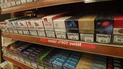 """Le 13 heures du 24 septembre 2014 : Tabac : le paquet de cigarettes """"neutre"""" bient�n France - 606.8229999999999"""