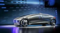 Le dernier concept de voiture autonome signé Mercedes : la F 015 Luxury in Motion.