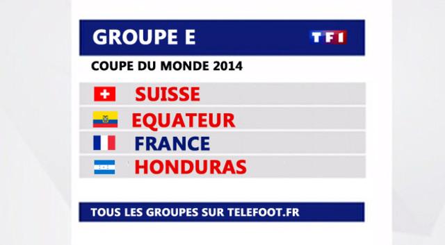 News t l foot coupe du monde 2014 tout sur le groupe de la france mytf1 - Groupes coupe du monde 2014 ...