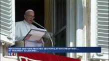 Le Pape solidaire des familles touchées par les crues dans le sud