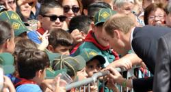 Le Prince William, duc de Cambridge, en visite à Malte pour marquer le 50e anniversaire de son indépendance, en remplacement de sa femme, Kate Middleton, le 21 Septembre 2014