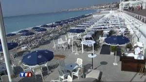 Les plages de Nice remises du coup de mer