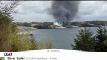 Norvège : un hélicoptère s'écrase avec plusieurs de personnes à bord
