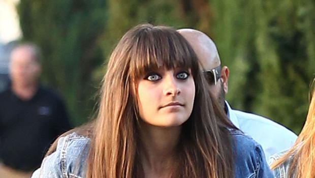 Paris Jackson, la fille de Michael Jackson en mai 2012