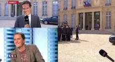 Un journaliste passe de LCI à TF1 : pour sa dernière, il pousse la chansonnette
