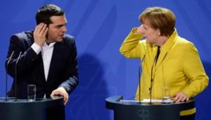 angela merkel alexis tsipras allemagne grece