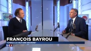 """""""Chienlit"""" : Bayrou ne fera pas """"le procès"""" de Sarkozy"""