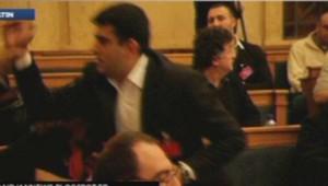 Incident à l'Assemblée nationale