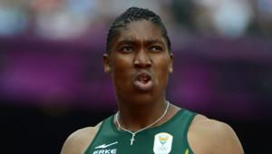 L'athlète sud-africaine Caster Semenya