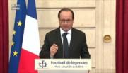"""""""Les mous peuvent atteindre la perfection"""" : la métaphore de Hollande sur son quinquennat"""