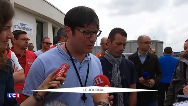 Privés de vote, les salariés de la raffinerie de Donges décrétés grévistes