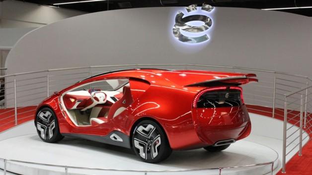 Salon de Francfort 2011 : ë-Auto ë-Concept