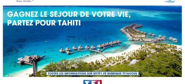 Tentez votre chance et gagnez un séjour de rêve pour 4 personnes à Tahiti