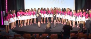 Conférence de presse Miss France 2013