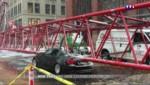 Elle mesure 172 mètres de long : une Grue s'écrase à New York et fait un mort