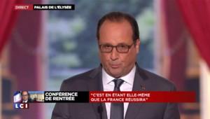 """Entreprises : """"Le pacte de responsabilité va se poursuivre en 2016"""", affirme Hollande"""
