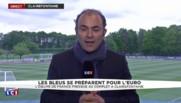 Euro 2016 : les Bleus sont à Clairefontaine, Griezmann et Varane seuls absents