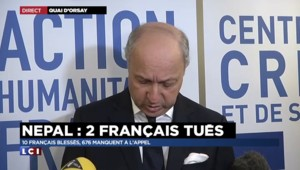 Fabius annonce l'envoi de 40 tonnes d'aides humanitaires d'ici mercredi