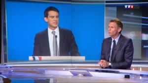 Le 20 heures du 16 avril 2014 : Valls bouscule la r�rtition des r� - 544.335