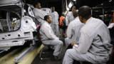 Fin de grève à l'usine PSA d'Aulnay-sous-Bois