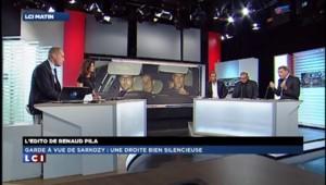 Garde à vue de Sarkozy : une droite bien silencieuse