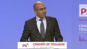 Harlem Désir au Congrès du PS à Toulouse (28 octobre 2012)