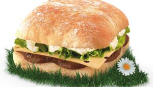 """Le Charolais"" hamburger McDonald's"