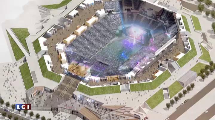 le nouveau bercy devient la 5e plus grande salle de concert au monde vid 233 os mytf1news