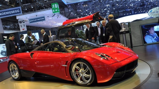 Photo 2 : Pagani Huayra : Tornade mcanique
