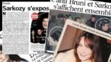 Nicolas Sarkozy et Carla Bruni à la Une